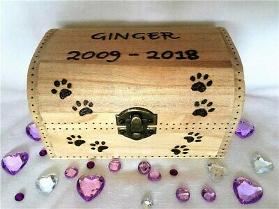 Pet Box Pet Urn Dog Urn Cat Urn Ashes Pet Cremation Box Personalised