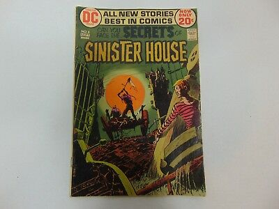 Can You Face The Secrets of Sinister House Sept. 1972 No.6