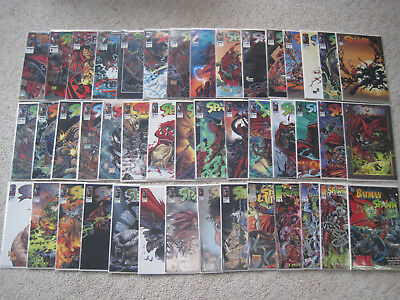 Lot of 54 Image Spawn Comic lot  2 - 60 VF/NM Bagged/boarded