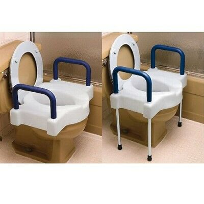 Maddak Inc. Tall-Ette Extra Wide Elevated Toilet Seat with Legs