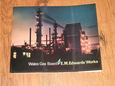 Wales Gas Board - E.M.Edwards Works,Neath c.1966 booklet;Red Jacket Copper Works