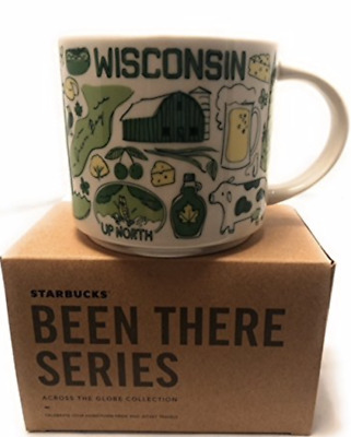 Starbucks WISCONSIN 14 Ounce Been There Collection (BTC) Mug. NWT