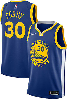 318befc4f43e7 Nike Stephen Curry Swingman Jersey (Golden States Warriors) 864475 495 Size  L