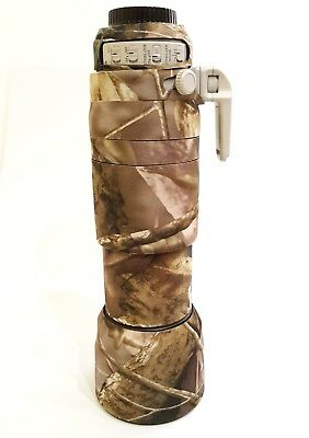 Camouflage Lens Cover for Canon 100-400 IS Mk 2 ( Neoprene Camo ) +Zoom Cover
