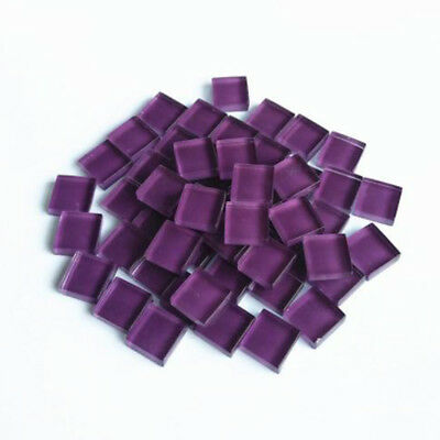 Mixed Mosaic Tile Colour Vitreous Mirror Wall Crafts Color glass DIY 100g New