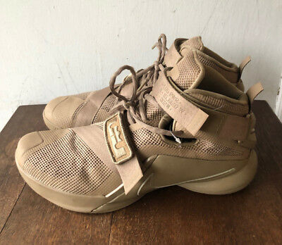 sports shoes 64428 38d38 Men LeBron Nike Zoom Soldier 9 IX Basketball Shoes 749490-222 Desert Camo Size  9