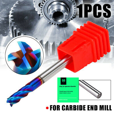 D4*10*50mm Fraise Foret Tungstène Carbure End Mill HRC65 Ball Nose Fraisage Kit