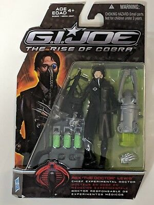 "Rex ""THE DOCTOR LEWIS"" G.I.JOE Action Figure - THE RISE OF COBRA - HASBRO {Z7)"