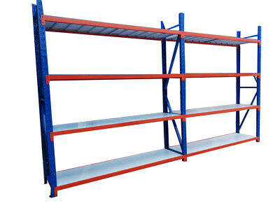 4M Length Warehouse Racks Storage Steel Shelving Garage Shelf Racking Shelves