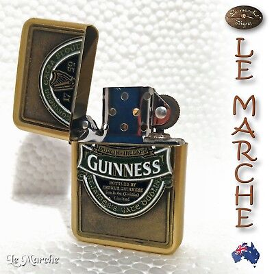 Collectors GUINNESS LIGHTER Extra Stout 2yrs Guarantee BRAND NEW