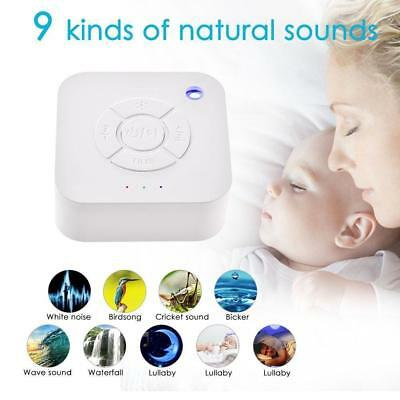 Baby Insomnia Sound Therapy Sleeping Aid USB Rechargeable Speaker /Light/Timer