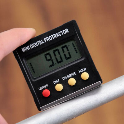 360° LCD Digital Inclinometer Level Box Gauge Angle Meter Finder Protractor