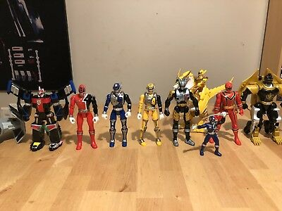 Power Ranger SPD Sword Walkie Talkie Mystic Force Bandai Bike Car Figure Bundle