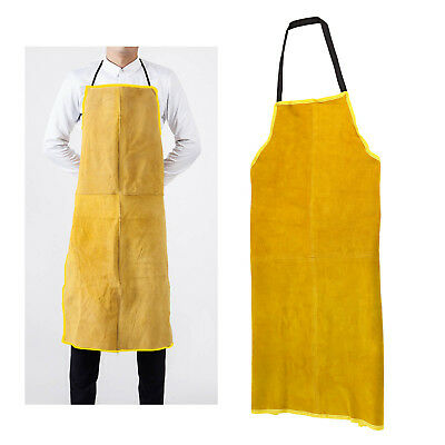 Flame Retardant Leather Welding Apron Portwest Welders Work Safety Workwear