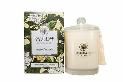 Wavertree & London Scented Candle - Frangipani & Gardenia