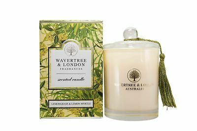 Wavertree & London Scented Candle - Lemongrass & Lemon Myrtle