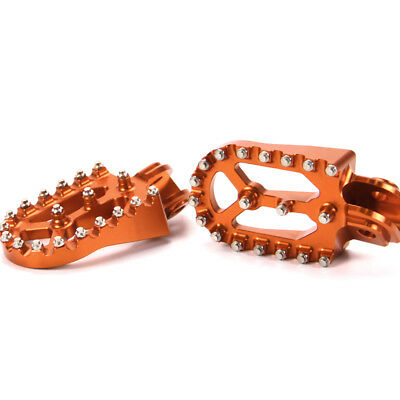 Off Road Nails Foot Pegs Footrests For KTM 620/625/640/660/950/990/LC4/Duke/SMC