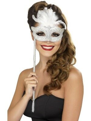 Adult Baroque Fantasy Eyemask Ladies Fancy Dress Costume Ball Party Accessory