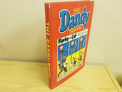 DANDY BOOK 1962 vintage comic annual -