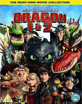 How To Train Your Dragon 1 & 2 Box Set DVD  New (DVD  2018)