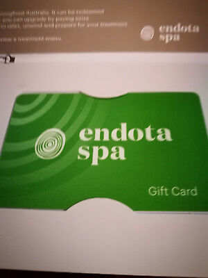 Endota $200 Gift Card - Selling $160