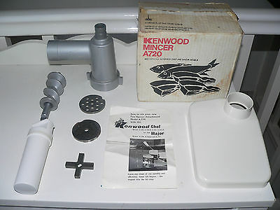 KENWOOD CHEF - Mincer - A720 - (Fits A700, A701 & A701a). Ex condition