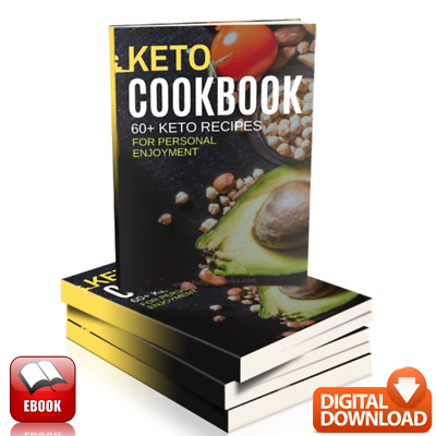 Keto Diet Cookbook Healthy Lifestyle & Lose Weight Guide  60+ Delicious Recipes