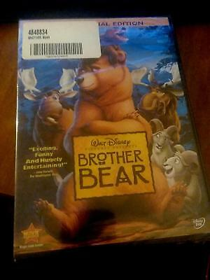 Disney's  Brother Bear (DVD, 2004, 2-Disc Set, Special Edition)  brand new mint