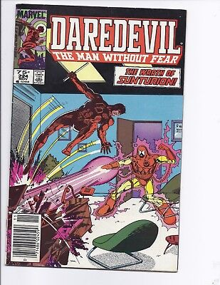 Canadian Newsstand Edition Daredevil #224 $0.75 Price Variant