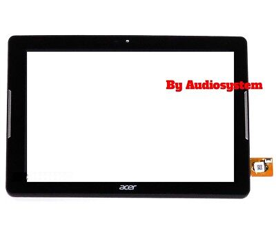 Vetro Touch Screen Acer +Frame Iconia One 10 B3-A32 K221 K8C Tablet Nero A6202