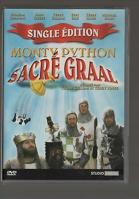 "Monty Python Sacré Graal ""Single Edition""  Gilliam / Cleese / Idle   Dvd Zone 2"