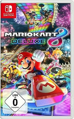 Mario Kart 8 Deluxe Nintendo Switch Spiel Neu OVP deutsche Version, Super Mario