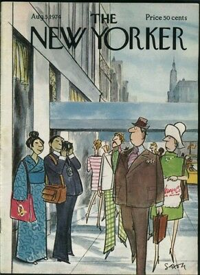 New Yorker Magazine - August 5, 1974 - Cover by Charles Saxon