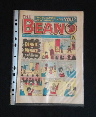 The Beano #1963 -  March 1st, 1980 - Near Mint Condition