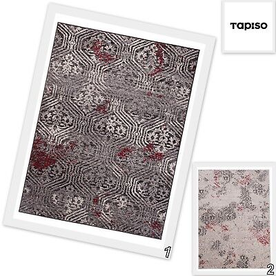 Large Traditional Grey Brown Rugs Vintage Style Elegant Classic Short Pile Rug