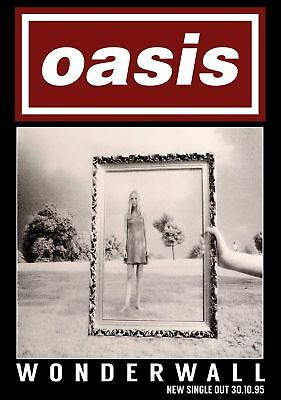 Oasis  Poster -A5, A4 A3 A2 Available