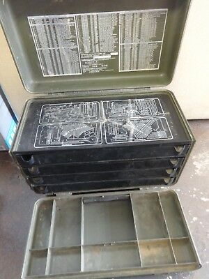 Military Issued Tool Box **used** w/o the tools LOOK