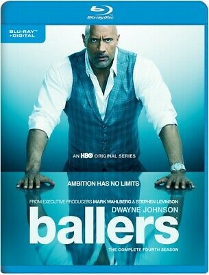 Ballers: The Complete Fourth Season [New Blu-ray] Ltd Ed, UV/HD Digital Copy,