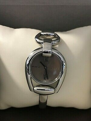 acfe92269ad PRE OWNED GUCCI 139.5 Ladies  Horse Bit 3 Stainless Steel Watch YA139501