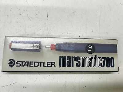 Penna A China Staedtler Marsmatic 700 Punta 1.0  Nuova In Scatola Originale