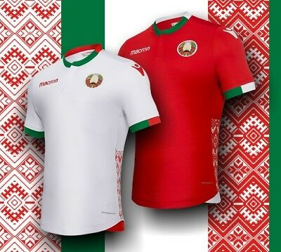 Official original playing & training shirts national team and clubs from Belarus