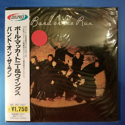 Paul McCartney & Wings - Band On The Run - NEW sealed Mini-LP CD  color poster