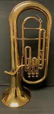 New Levante Lv-bs5605 Pro 3-valve Bb Baritone Horn Clear Lacquer With Soft Case Musical Instruments & Gear