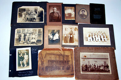 HUGE Lot of Over 1000 Antique Photos + 2 Books