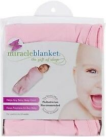 Miracle Blanket Inbakerdoek roze