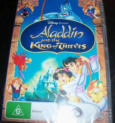 Aladdin And & The King Of Thieves – Walt Disney (Australia Region 4) DVD – New