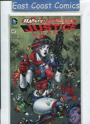 Justice League #47 - Harleys Little Black Book Colour Variant - Dc New 52