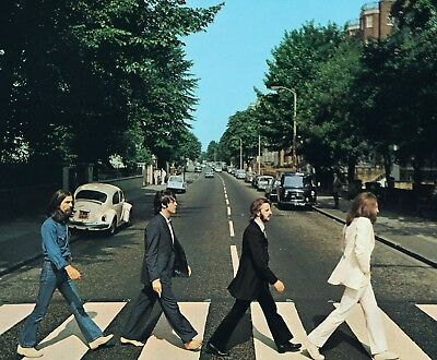 THE BEATLES ABBEY ROAD  Poster A5 A4 A3 A2