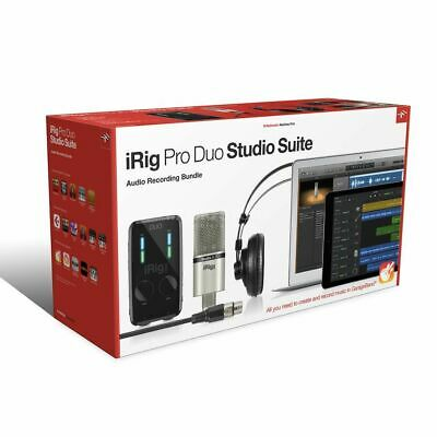 IK Multimedia - iRig Pro Studio Suite Recording-Bundle