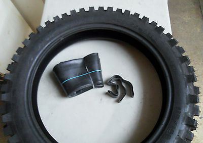 Mitas Classic/Vintage MX Competition Motorcycle Tyre - Tube Combo 110 / 100 - 18